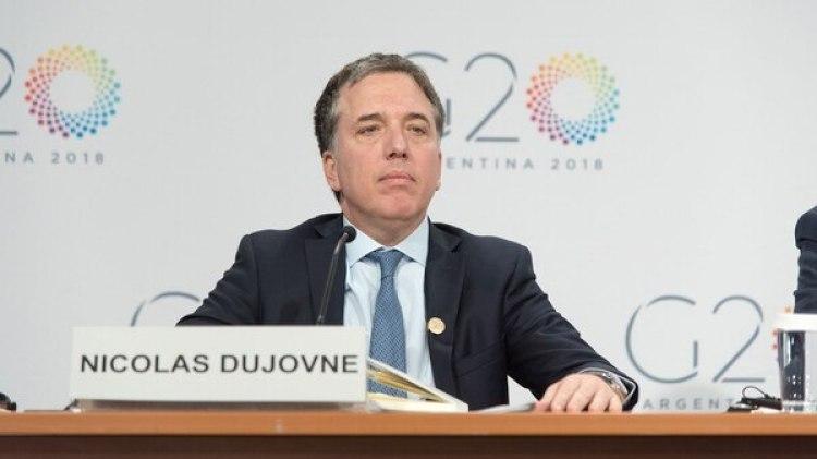 El ministro de Hacienda, Nicolás Dujovne