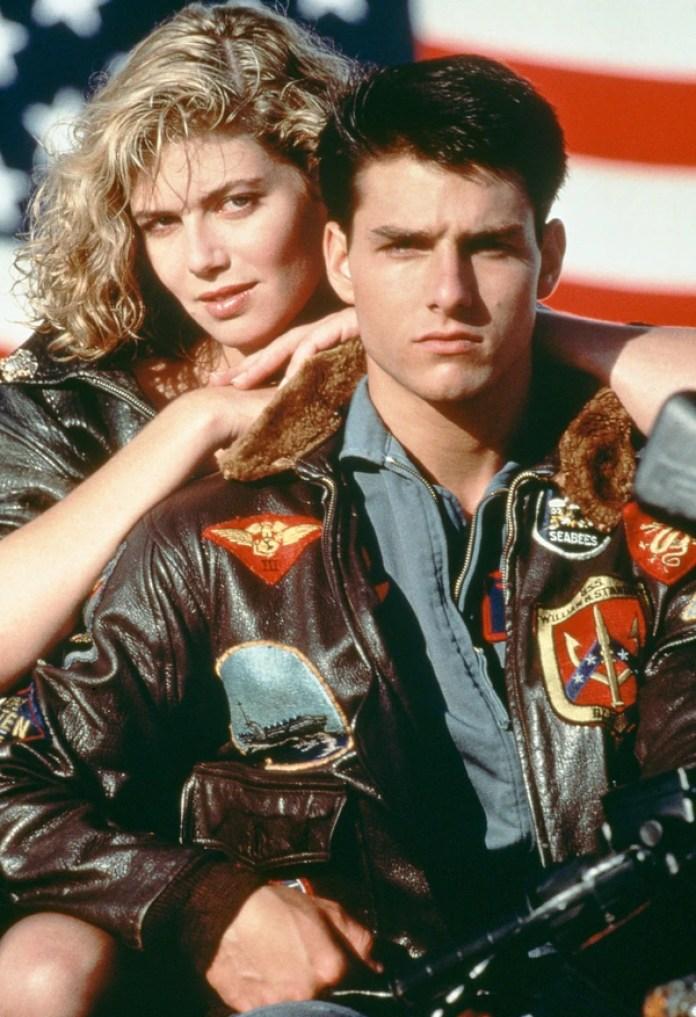 Tom Cruise y Kelly McGillis (Getty)
