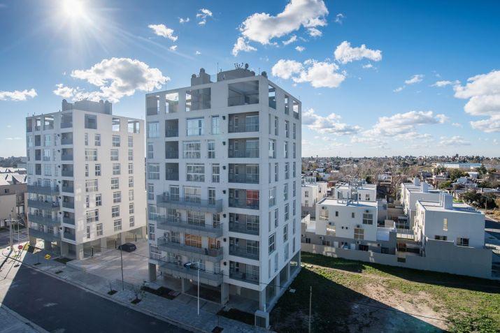 El complejo de Morón forma parte de los 24 mil desarrollos urbanísticos que el Procrear construyó en todo el país