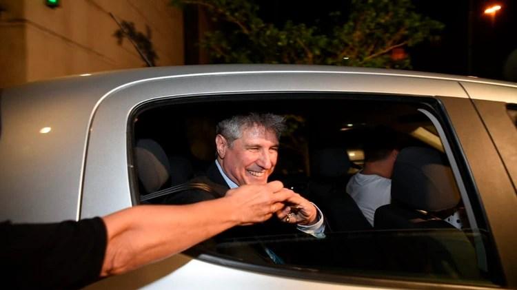 Amado Boudou, al recuperar la libertad el miércoles (Manuel Cortina)