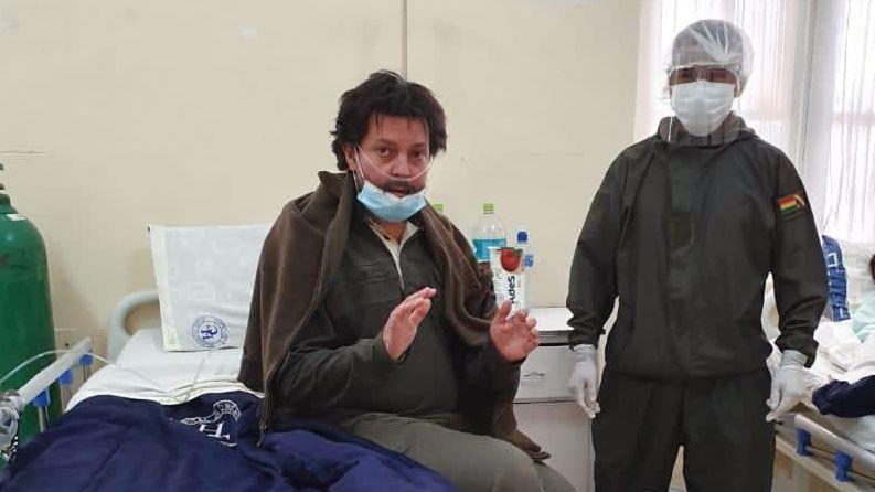 Facundo Molares en Bolivia