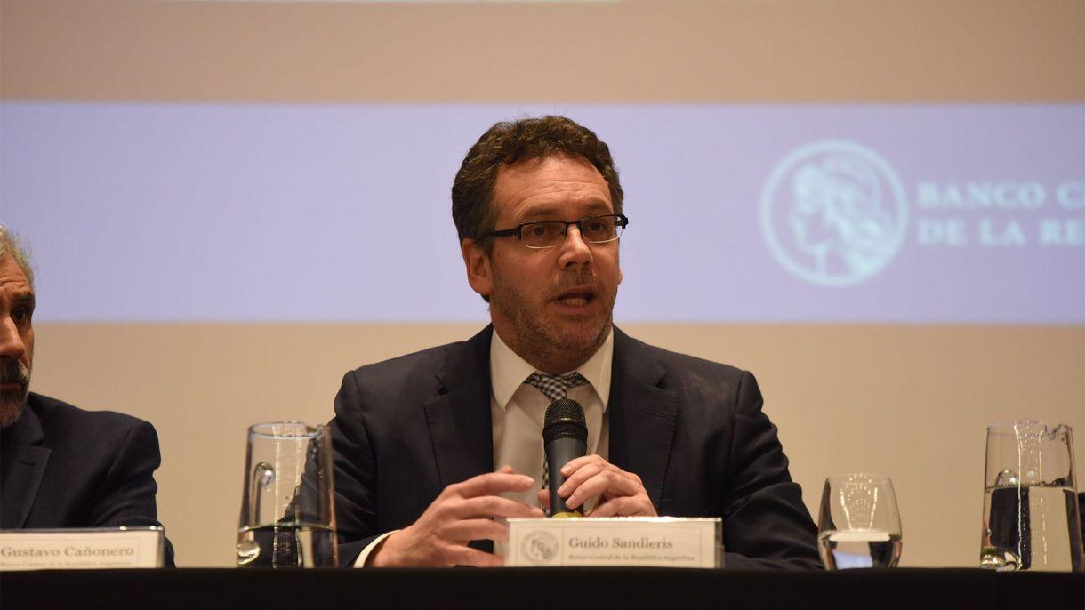 Guido Sandleris se mostró confiado en que los mercados recuperarán la calma de las semanas previa a las PASO ASFranco Fafasuli)