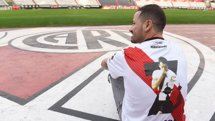 El uruguayo se retiró del fútbol a los 31 años (Club Atlético River Plate)