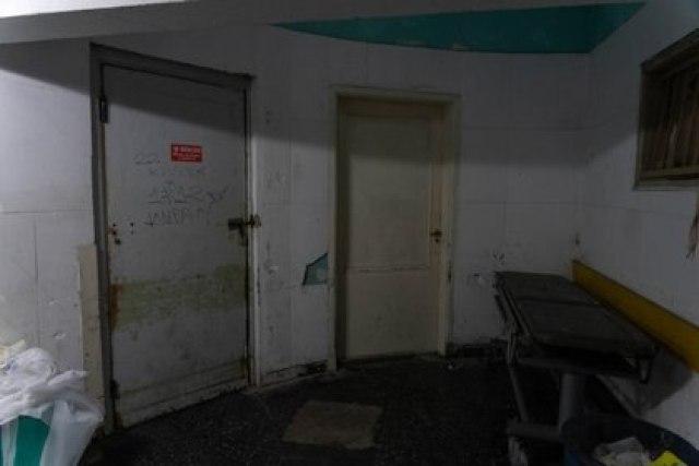 La morgue del Hospital San Martín. Ya no está saturada como durante la primera ola, cuando no se sabía cómo tratar los cuerpos. (Foto: Franco Fafasuli)