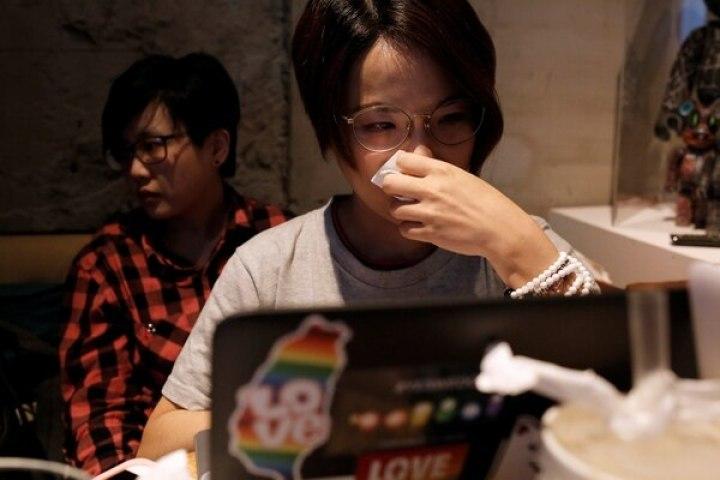 Activistas en Taipei lamentaron el resultado (Reuters)