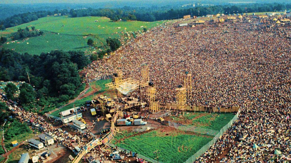 Woodstock definió a una generación (Woodstock.com)