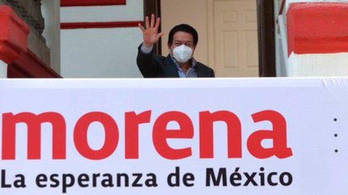 Mario Delgado es el dirigente nacional de los partidos políticos que menos gana. . EFE/ Mario Guzmán/Archivo