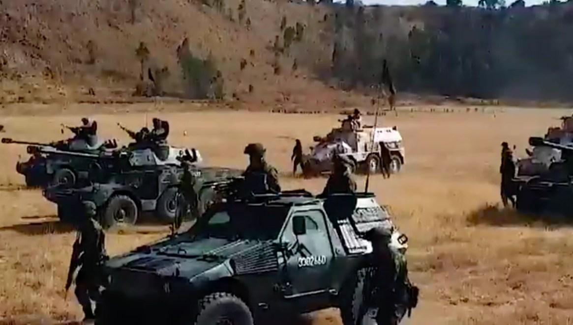 Elementos del ejército llegaron unas horas después a Culiacán para reforzar la seguridad (Foto: archivo)