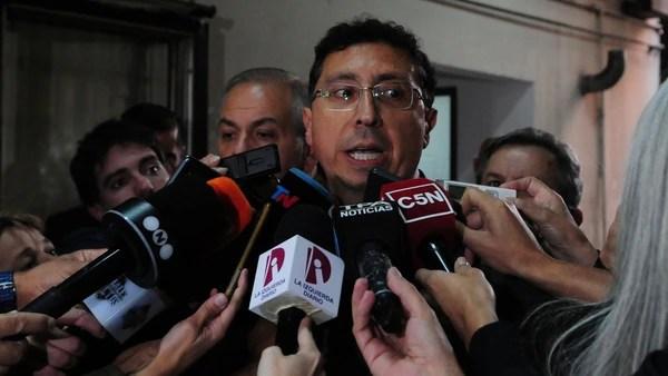 Juez Guillermo Gustavo Lleral (Maximiliano Luna)