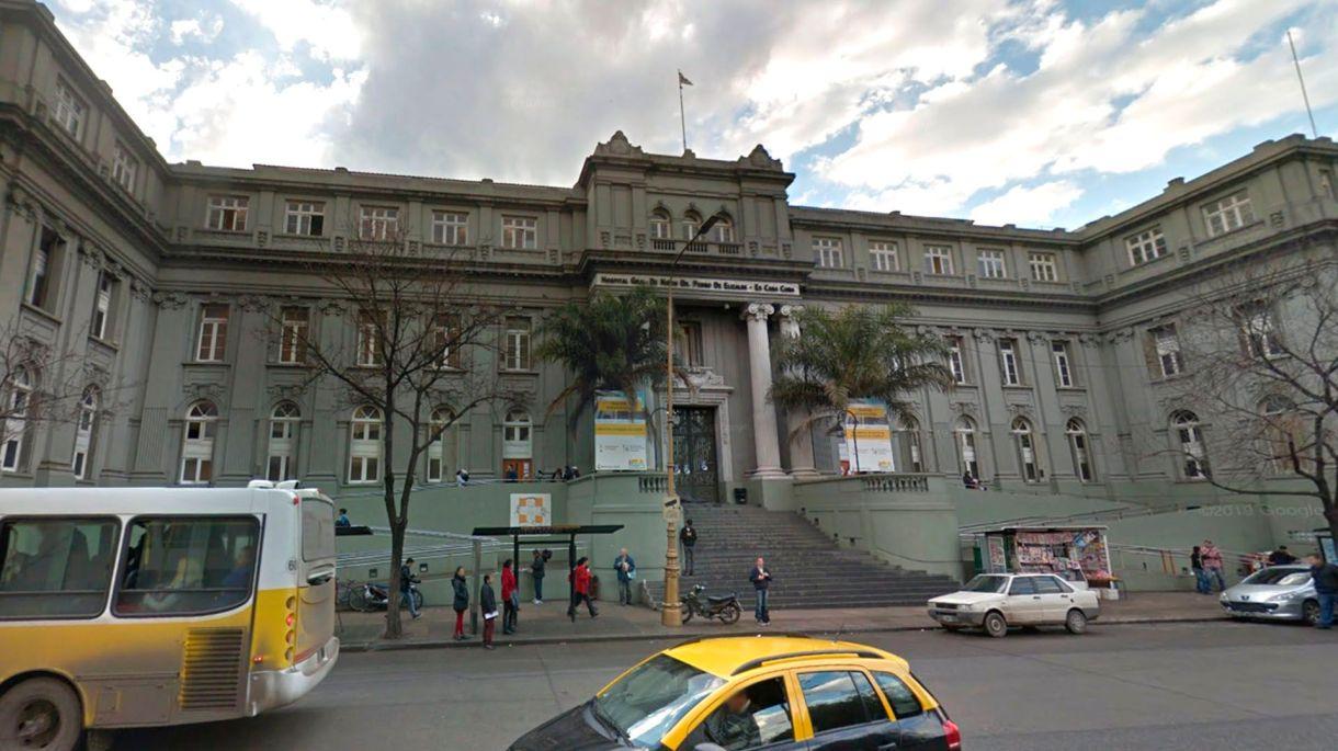 La beba ya había sido internada con anterioridad en el hospital de niños Pedro de Elizalde, de Capital Federal