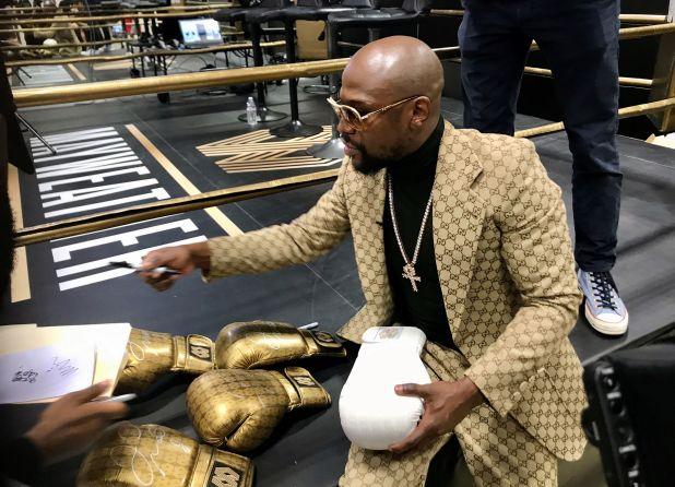 """Floyd """"Money"""" Mayweather Jr. no se ha caracterizado por tener una actitud humilde (Foto: Rory Carroll/ Reuters)"""