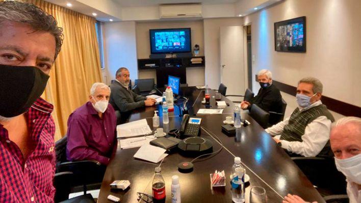 La CGT realizó una reunión virtual de su consejo directivo