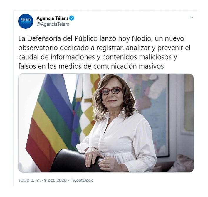 Miriam Lewin NODIO