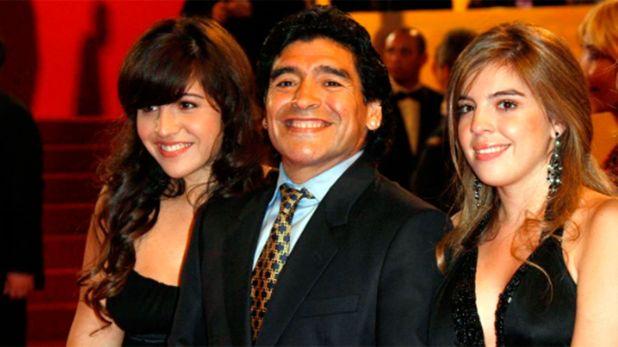 Diego Maradona, Dalma y Gianinna