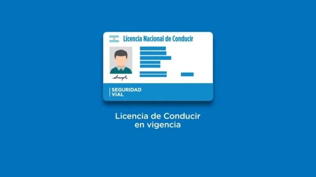 La licencia de conducir