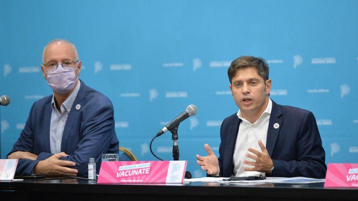 Conferencia Axel kicillof nuevas restricciones