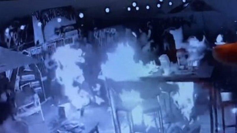 Tras el incidente una joven de 19 años murió y otras ocho personas sufrieron quemaduras de diversa gravedad.