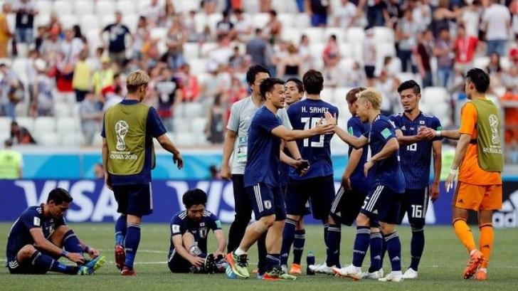 خسرت اليابان 1-0 ، لكنها اختارت عدم الهجوم لأنه مع هذه النتيجة نفسها اجتازت الجولة (رويترز)