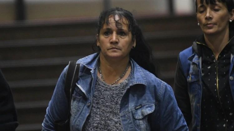 Silvia Krabler, madre del ladrón asesinado.