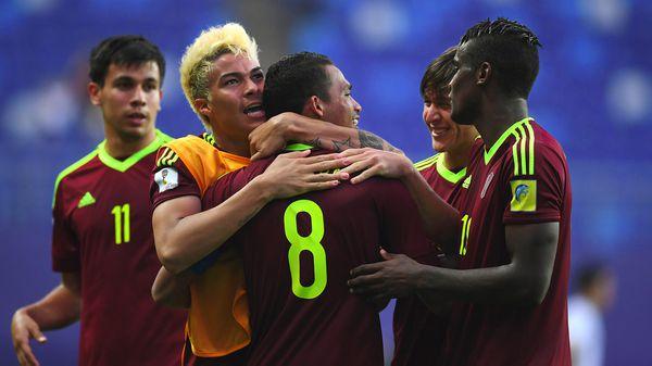 Venezuela espera en cuartos de final del Mundial Sub 20 por el ganador del duelo entre Estados Unidos y Nueva Zelanda (AFP)