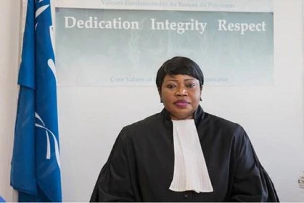 La fiscal jefe de la CPI, Fatou Bensouda.