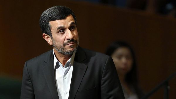 El ex presidente y miembro de la Guardia, Mahmoud Ahmadinejad, mantuvo una tensa relación con el líder supremo Ali Khamenei (Getty)