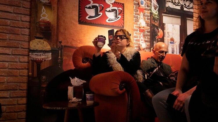 """El mítico sillón del """"Central Perk"""""""