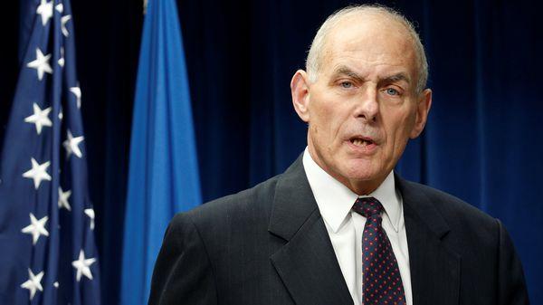 John Kelly, secretario de seguridad de los Estados Unidos (Reuters)