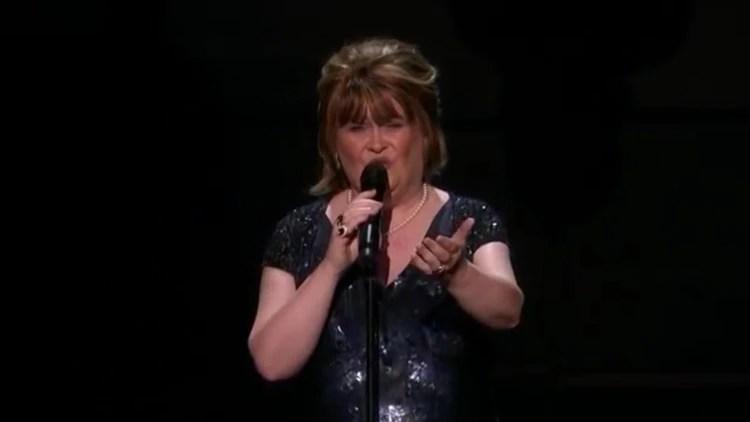 Susan Boyle recibió el botón dorado