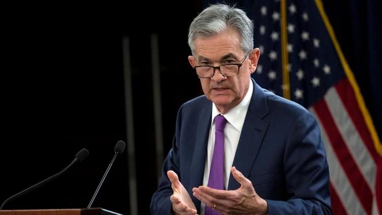 Jerome Powell, presidente de la Reserva Federal de EEUU, ya anunció el primer recorte desde 2008 en las tasas de interés tras las señales de desaceleración globales(Foto: Reuters)