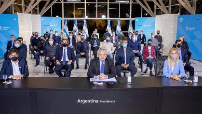 El Presidente anunció la modificación de la coparticipación nacional desde la Quinta de Olivos.