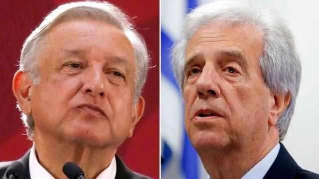 Andrés López Obrador y Tabaré Vázquez tienen una estrategia común respecto a Venezuela que comparte Alberto Fernández