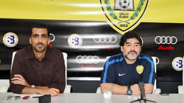 Tariq Al-Sharabi, ex traductor de Maradona en Al Wals