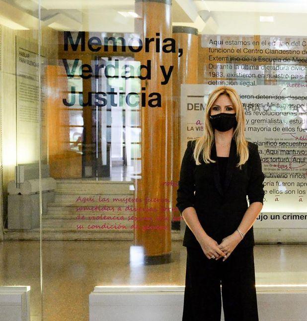 Fabiola Yañez en la ESMA