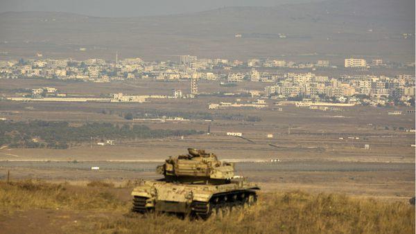 Una serie de incidentes con fuego cruzado en la frontera en los Altos del Golán está generando tensiones entre Siria e Israel (EFE)