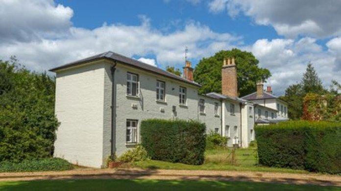 Frogmore Cottage es una casa en los terrenos del Castillo de Windsor