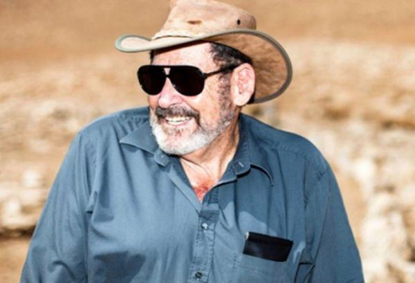 El arqueólogo israelí Adam Zertal