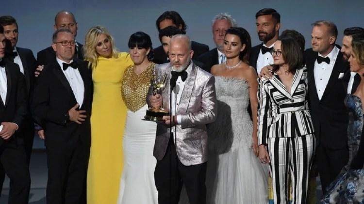 """Ryan Murphy y todo el elenco de 'The Assassination of Gianni Versace: American Crime Story"""""""