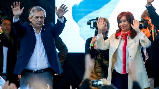 Alberto Fernández cerrará su campaña electoral acompañado por Cristina Kirchner (Foto: Nicolás Aboaf)