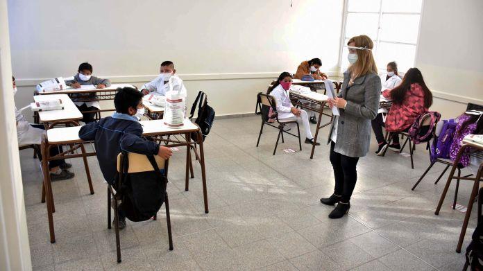 San Juan-Regreso a clases