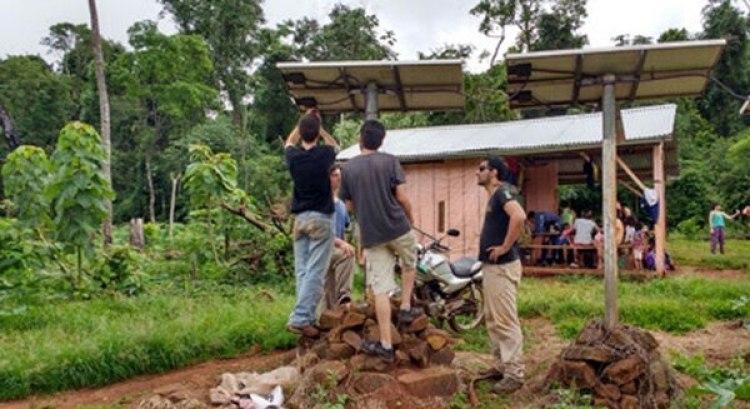 El trabajo realizado sirvió para mejorar la calidad de vida de todos los habitantes de los asentamientos visitados