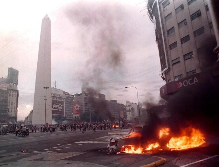 Parte de los incidentes de diciembre de 2001 (NA)