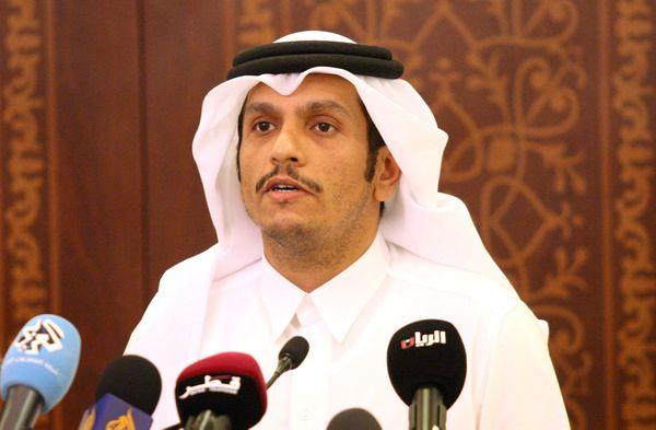El ministro de Exteriores qatarí Mohammed bin Abdulrahman al-Thani (Reuters)