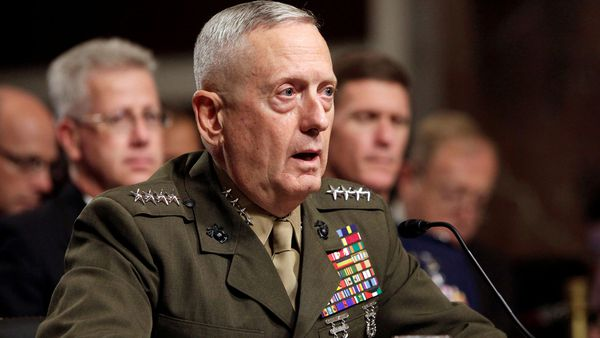 El Secretario de Defensa Jim Mattis(Reuters)