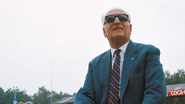 Enzo Ferrari, en los años 70 (Getty)