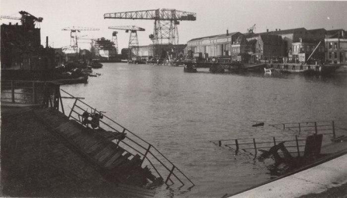 El puerto de Amberes, Bélgica, objetivo final de la ofensiva (Flickr/Provincial Archives of Alberta)