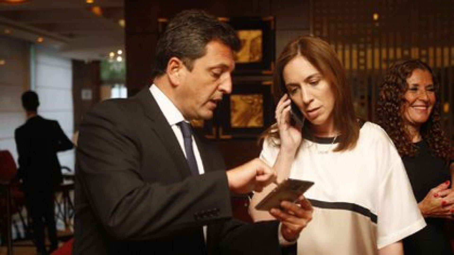 Horacio Rodríguez Larreta apuntaló el vínculo entre Sergio Massa y Maria Eugenia Vidal
