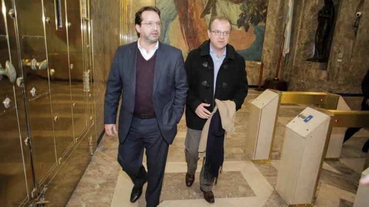 Marco Lavagna y Leonardo Madcur (Foto: Consenso Federal)