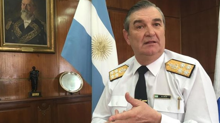 El ex jefe de la Armada, Marcelo Srur