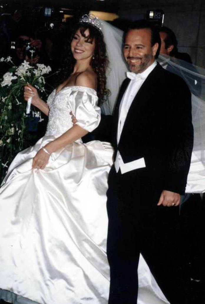 Mariah Carey to Tommy Mottola, the current husband of mexican singer Thalia (Grosby Group)